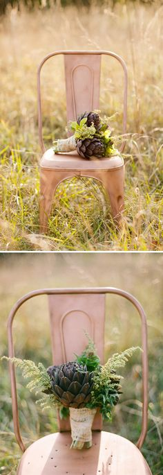 very cool for that earthy wedding!