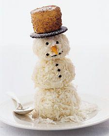 Coconut Snowmen #recipe