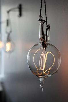 a beautiful light bulb.