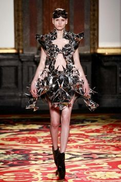 This year's Iris Van Herpen S/S Couture is made using 3D printing http://www.nowfashion.com/21-01-2013-iris-van-herpen-couture-spring-summer-2013-paris-show-3052.html#