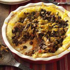 Black Bean Tamale Pie