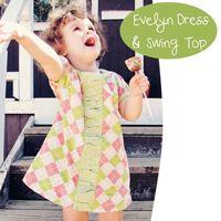Evelyn Dress & Swing Top 18m-8yr E-Pattern