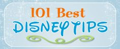 101-disney-tips