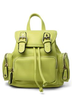 backpacks, candy colors, yellow mini, candies, apples, minis, mini backpack, backpack chartreus, color yellow