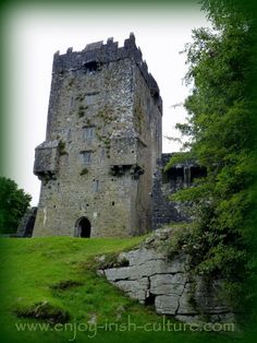O And F Galway Castle at Oughterrard, County Galway, Ireland, once belonged to the O ...