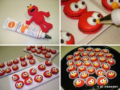 Fun! ~ Elmo Macarons