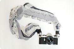 DIY silk camera strap