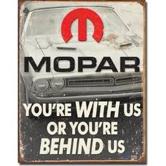 MOPAR. I have own 5 Mopar Muscle cars in my life time and Love them But there is still something about those chevy products I just can't get a way from.