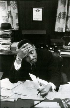 Martin Luther King, Photo HCB