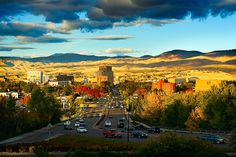 Boise, Idaho. Ever since seeing Boise on House Hunters on HGTV several years ago, I have wanted to visit.