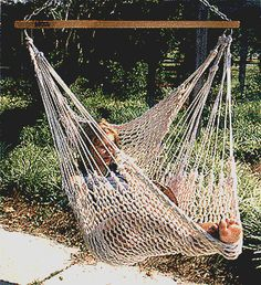 Hammock pattern macrame crochet crochet for Diy macrame baby swing