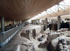 Akrotiri where modern meets ancient