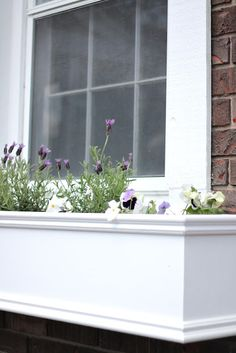 DIY Window Planters with step by step easy tutorial