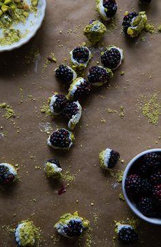 Blackberry Bonbons @dessertfortwo