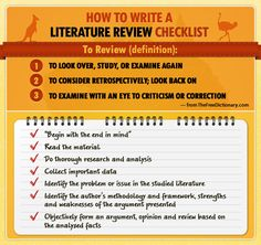 literature review apa
