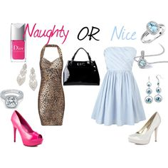 Naughty or Nice, created by jbame on Polyvore