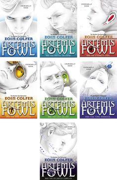 Artemis fowl book series