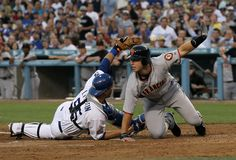 Los Angeles Dodgers vs San Francisco Giants Dodger Stadium (Baseball) at Los Angeles ( 05-11-2014 1:10 PM )
