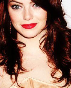 I have a lady crush on Emma Stone.