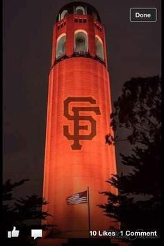 Coit Tower for #OrangeOctober