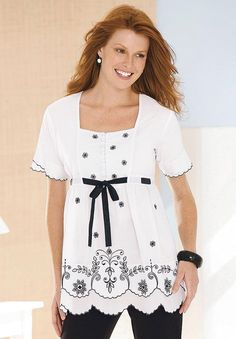 Plus Size clothing: shirts & blouses for Women | Woman Within