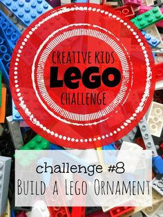 Build a Lego Ornament (Love these Lego Challenges from A Mom with a Lesson Plan)