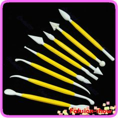 Free Shipping Cake Decorating Fondant Sugarcraft Modelling Tool 8cs a set Hot Selling-in Cake Molds