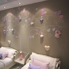 un dormitorio de niñas