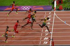 Usain Bolt, rey de la velocidad con su segundo oro olímpico en los 100 metros - RTVE.es