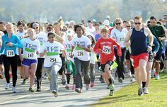 The race brought together runners of all ages, shapes and  sizes determined to help fight Lyme and other tick-borne diseases.