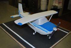 airplane cake