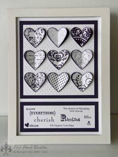 Stampin' UP! hearts card
