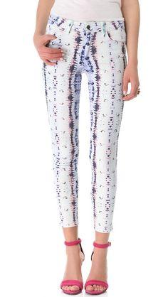 """Joe's Jeans """"The Skinny Jeans"""" {cute pattern}"""