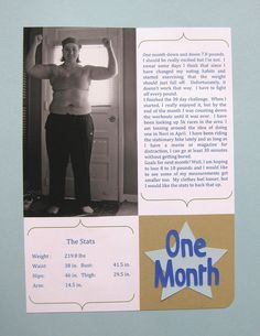 Fitness Journal - February by craftyearth, via Flickr