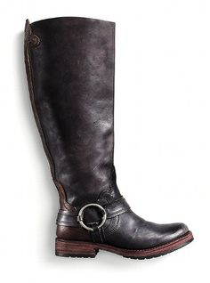 Leather Boot from Victoria's Secret. Very nice design!