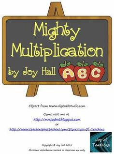 95 page freebie of multiplication problems with and without regrouping