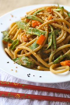 Meatless Monday: Cold noodle and bok choy salad