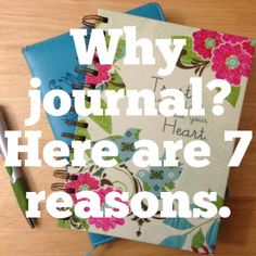 Great post on journaling by Joy