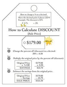 Active Notetaking in Math Foldables Finding DiscountsSale Price - Sarah Gilbert - TeachersPayTeachers.com