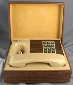 Our phone was a rotary dial.  Cool.