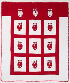 Quilt Magazine | Quilt Magazine » Blog Archive » QUILT: Oct/Nov 2013 – 1950′s Vintage Hoot Owl