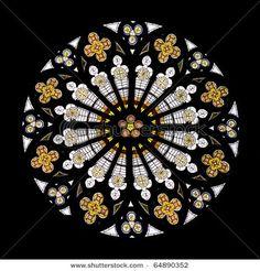 Gothic rose window