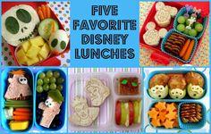 BentoLunch.net - 5 Favorite Disney Lunches
