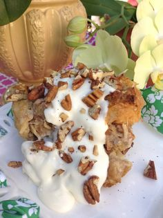 Hummingbird Bread Pudding