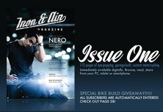 Issue 1 is here.