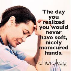 Only a nurse would understand... #nursing #manicured #hands scrub, manicur hand