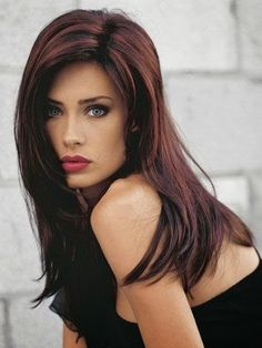 4 Stunning Highlights for Dark Brown Hair 2014 | Hairstyles |Hair Ideas |Updos Hair Colors, Red Highlights For Dark Hair, Haircolor, Hairstyle Ideas, Brown Highlights In Hair., Lip Colors, Highlights For Brown Hair 2014, Dark Hair Color 2014