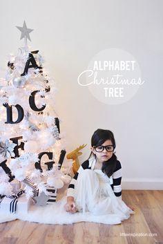 Alphabet Christmas T