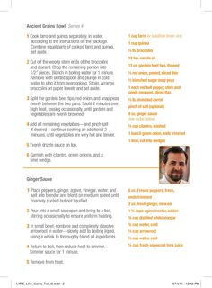 Chef Tal Ronnen's Recipe for his signature dish - Tal's Ancient Grains!