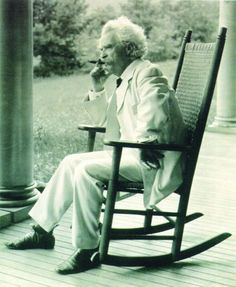 """""""Don't go around saying the world owes you a living. The world owes you nothing. It was here first."""" -Mark Twain"""